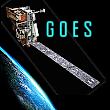 Goes Logo Satellite Image